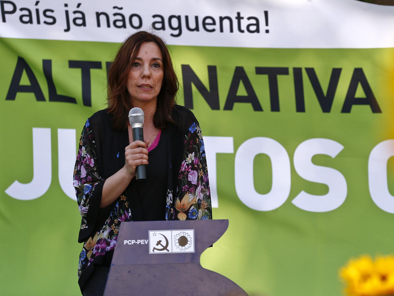 Autárquicas: Heloísa Apolónia é a aposta da CDU à Câmara de Oeiras