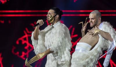 Máscara usada por Conan Osíris é inspirada em Lady Gaga? Fãs dizem que sim