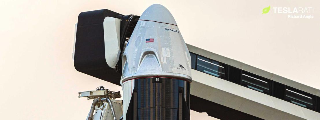 SpaceX conclui com sucesso testes da Dragon Crew. Certificação para transportar astronautas para breve