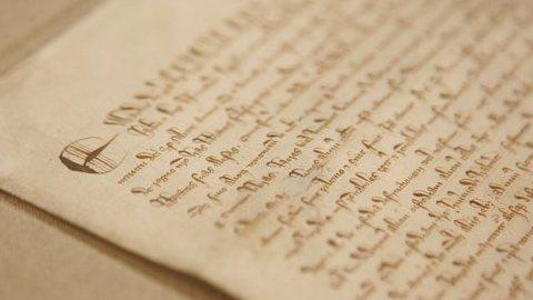 Magna Carta chega a Lisboa para comemorar 800 anos de vida