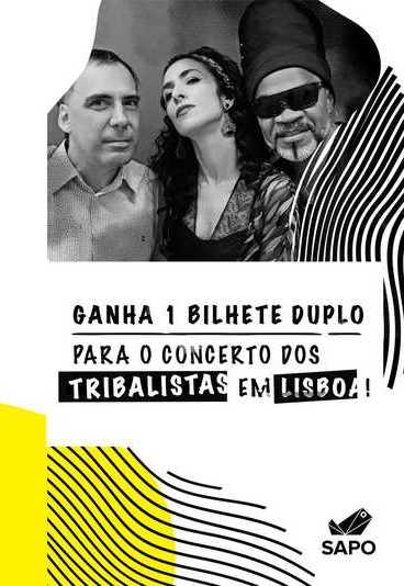 Tribalistas na Altice Arena: ganhe um convite para o concerto