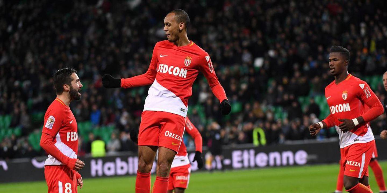 Mónaco goleia em Saint-Étienne e regressa a 2.º lugar na Liga Francesa
