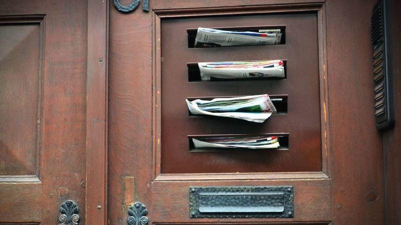 O que fazer com os folhetos publicitários que enchem as nossas caixas de correio?