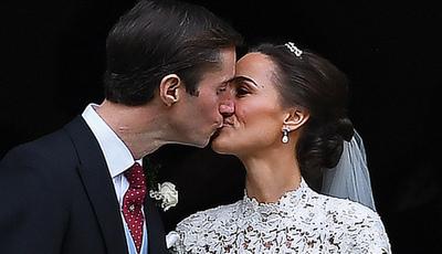 Não é realeza, mas quase: As imagens do casamento de Pippa Middleton