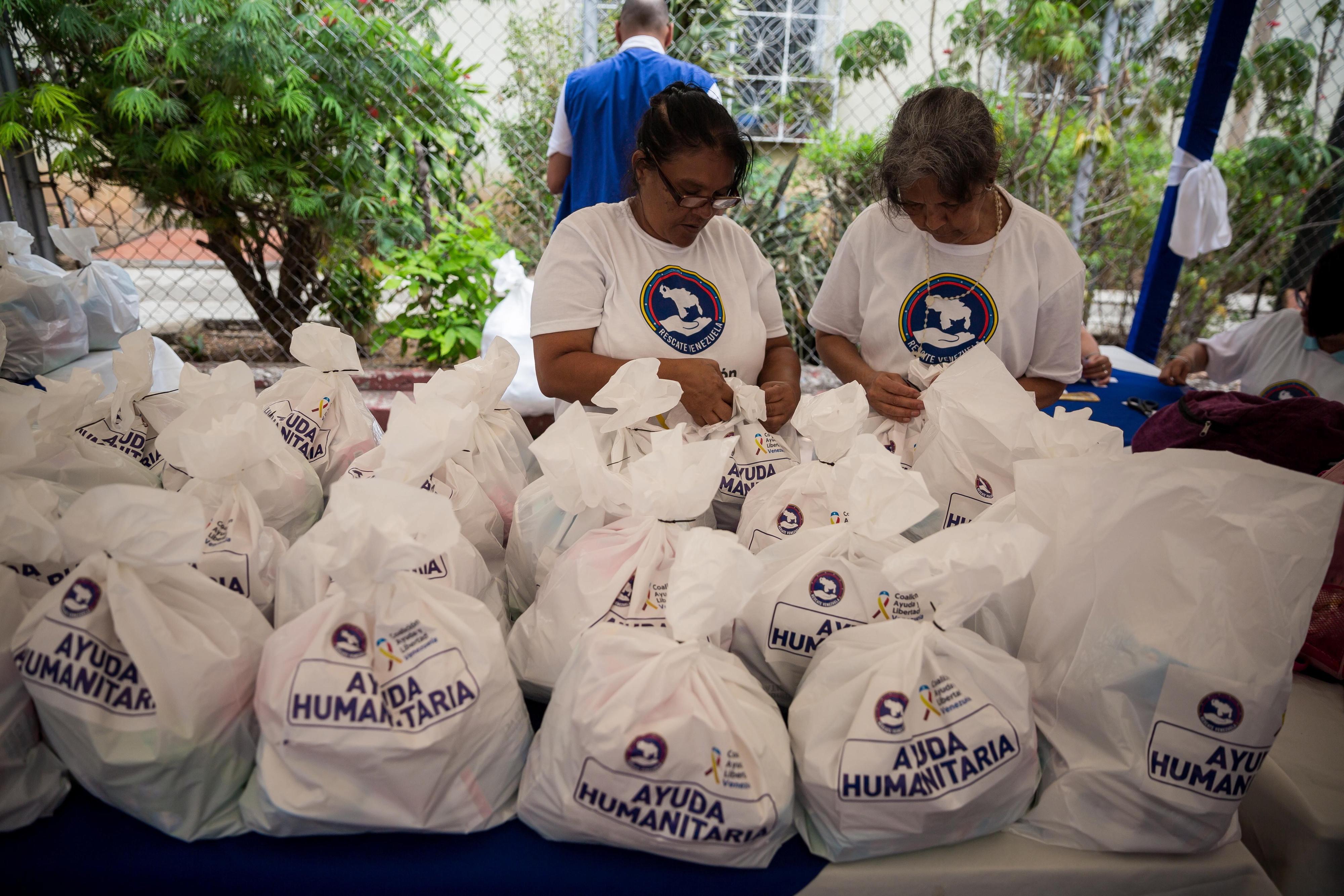 Venezuela: Cruz Vermelha anuncia entrada de 24 toneladas de ajuda humanitária