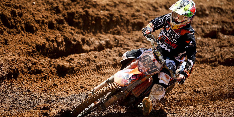 Rui Gonçalves soma três pontos no GP da Suécia de motocrosse