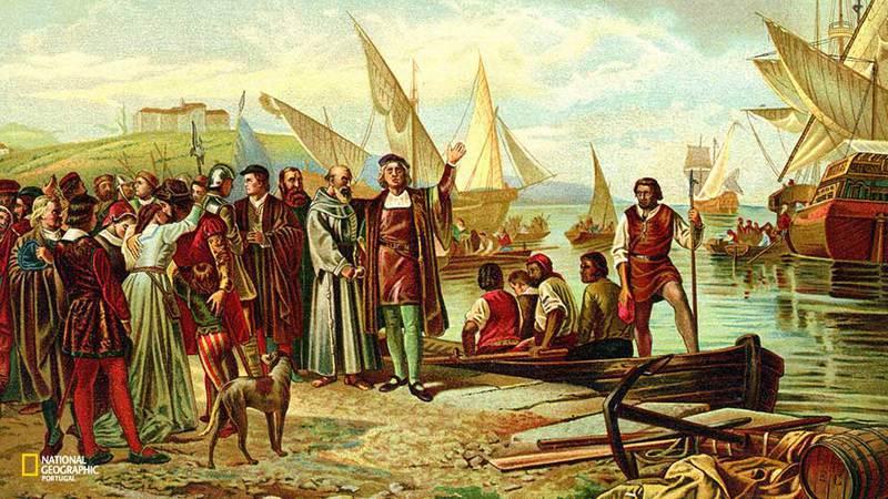 As viagens de Cristovão Colombo