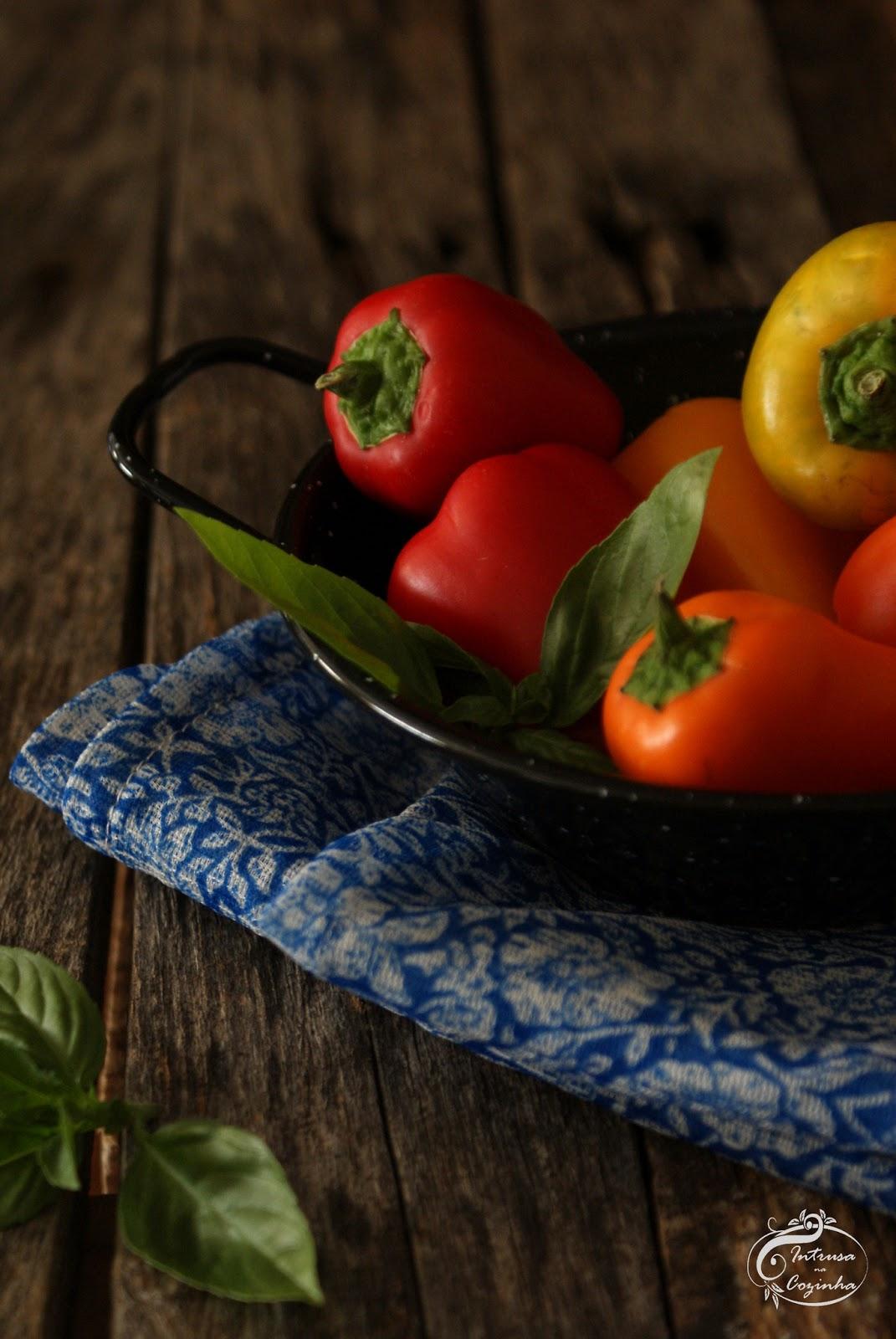 Quem gosta de pimentos vai querer espreitar o blogue âIntrusa na Cozinhaâ