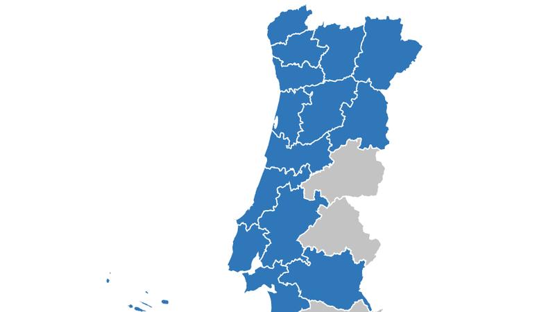 COVID-19 concelho a concelho. Veja aqui os dados na sua terra