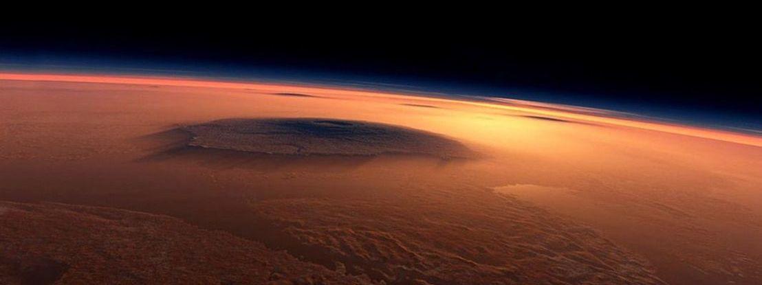 Depósitos de água congelada em Marte acessíveis com uma pá... NASA tem boas notícias para os astronautas