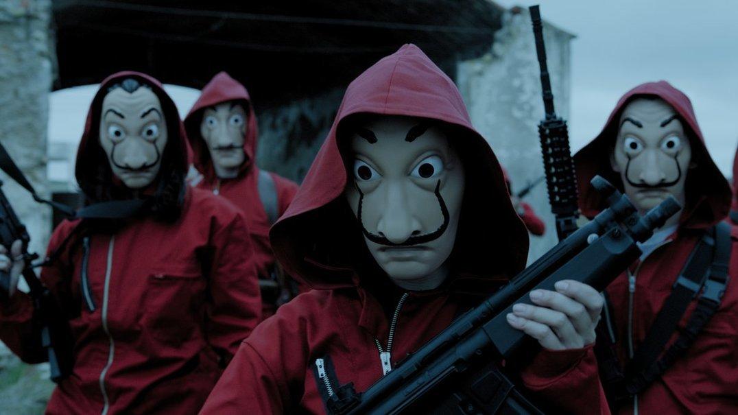 'La Casa de Papel' regressa à Netflix em abril
