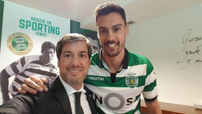 André Pinto assina pelo Sporting