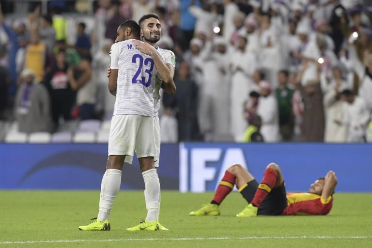 Al Ain e Kashima Antlers nas meias-finais do Mundial de Clubes