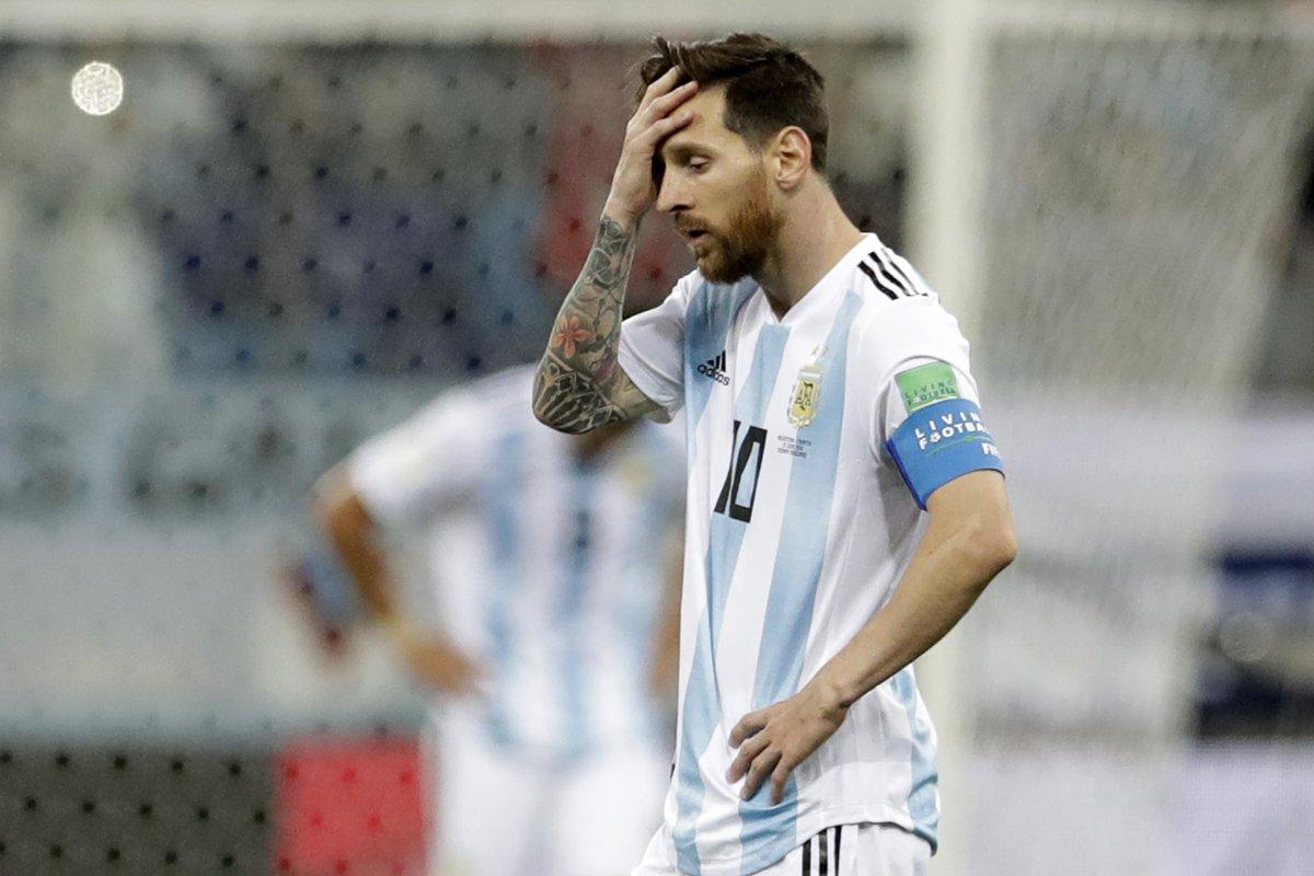 Facto do dia: Messi não marca num Mundial há 22 remates. Hoje só fez um