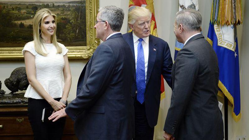 Mais um Trump na Casa Branca