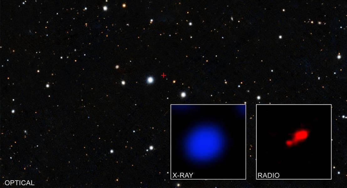 Nuvem de gás escondeu buraco negro supermassivo criado no início do Universo