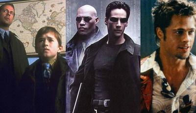 """""""O Sexto Sentido"""" faz 20 anos: conhece estes 25 grandes filmes de 1999?"""