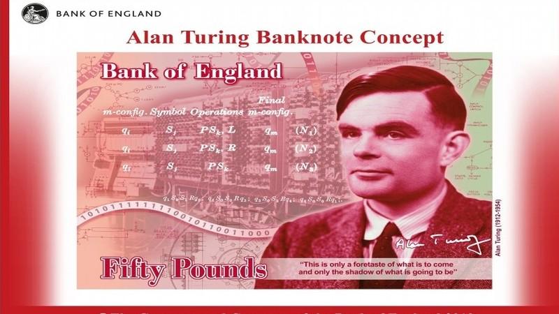 Há um novo rosto na nota de 50 libras. Quem foi o matemático Alan Turing?