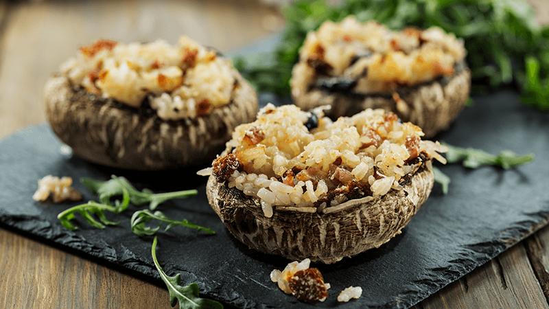 Esta Páscoa experimente estes cogumelos com tomilho