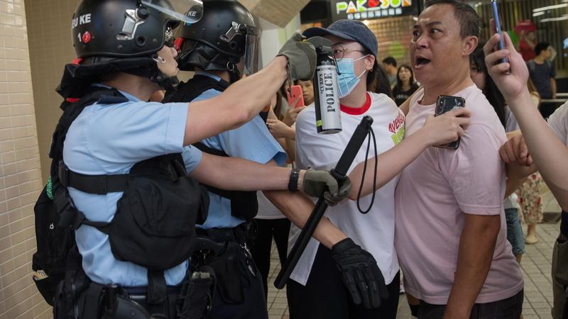 Deputada de Hong Kong pede à ONU inquérito internacional à repressão policial