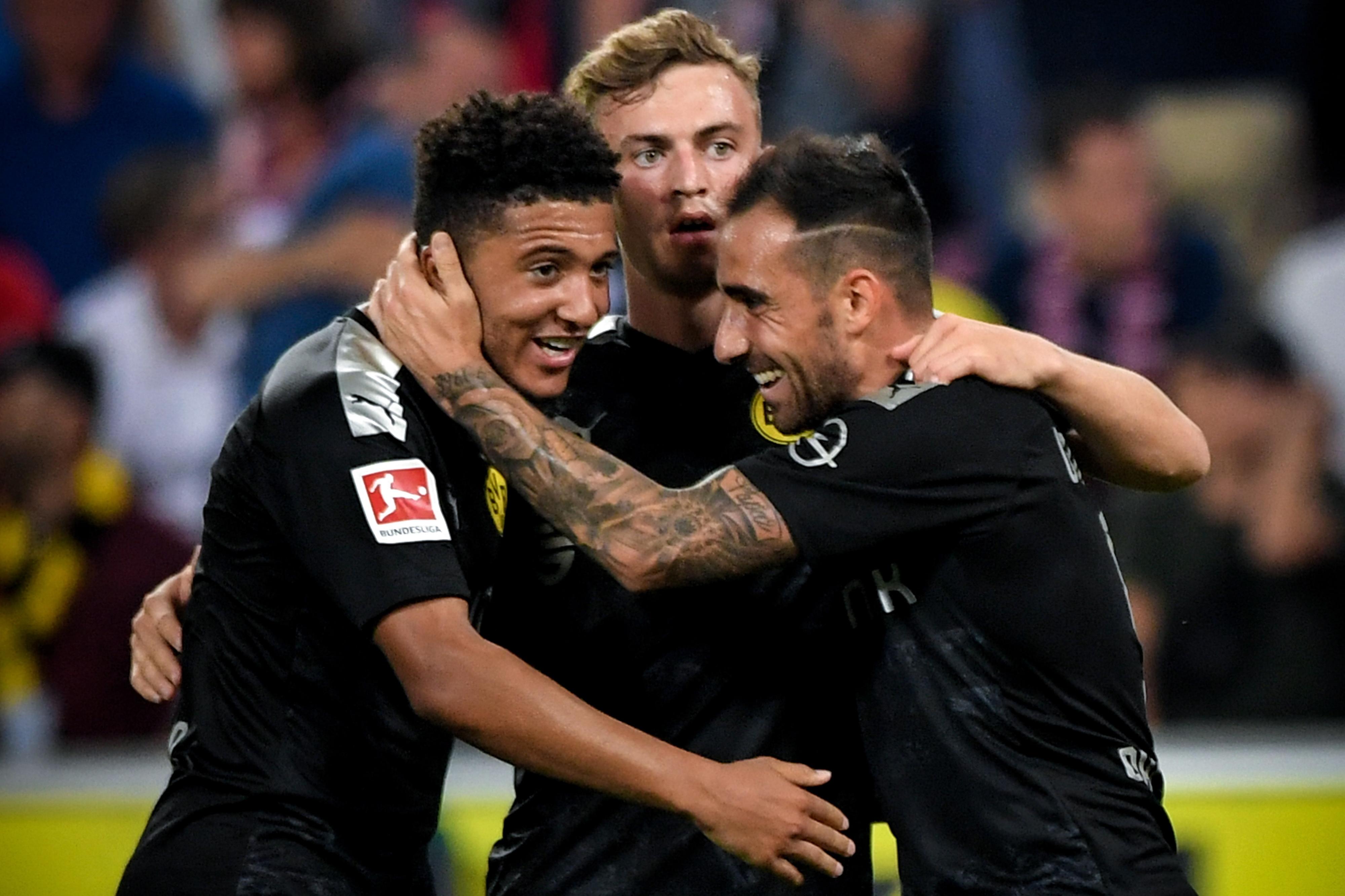 Borussia Dortmund, sem Raphael Guerreiro, vence em casa do Colónia