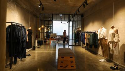 As linhas mestras da nova loja de Nuno Baltazar
