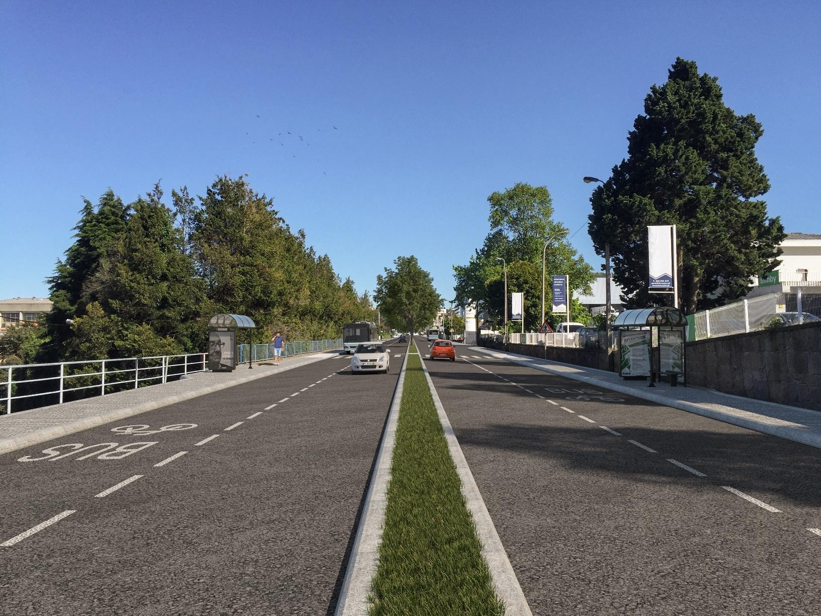Concurso para primeiro corredor de metrobus de Gaia é discutido na segunda-feira