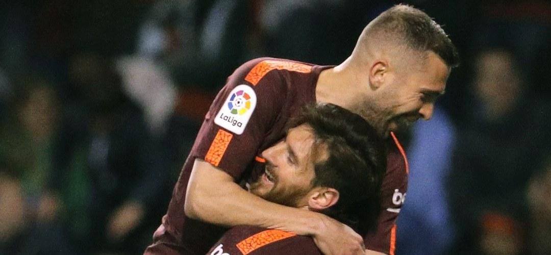 """Jordi Alba: """"Não gosto do Real Madrid, mas oxalá Lopetegui possa manter o seu trabalho"""""""