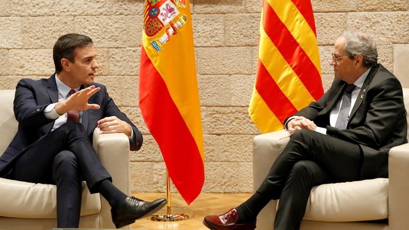 """Futuro da Catalunha em discussão na """"mesa do diálogo"""" com Madrid"""