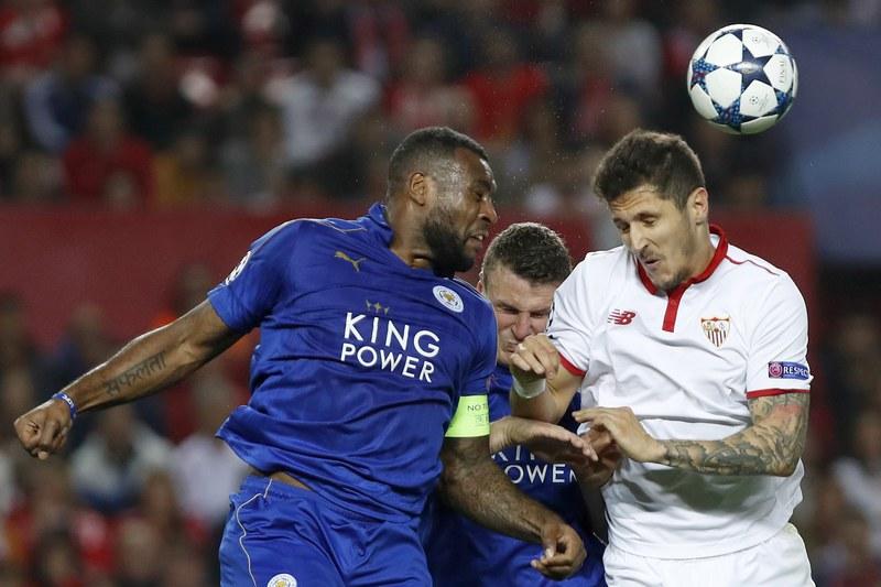 Sevilha sofre mas vence Leicester