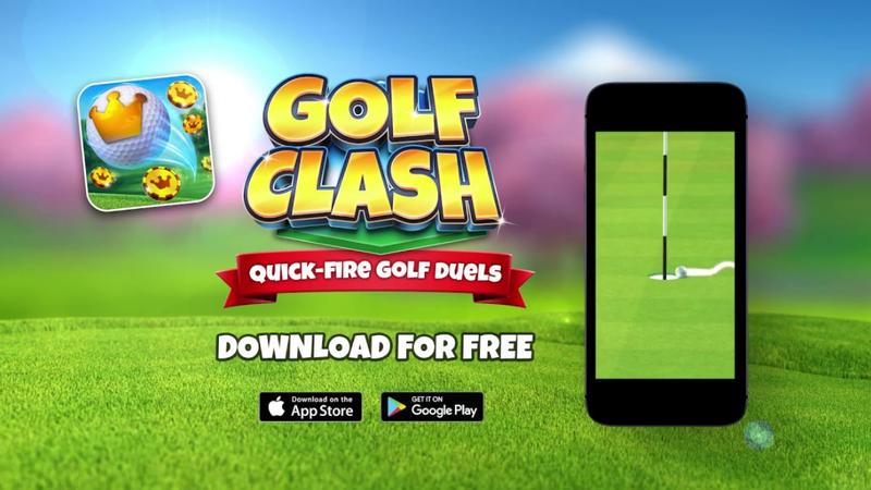Golf Clash, o jogo dos duelos rápidas de golfe online