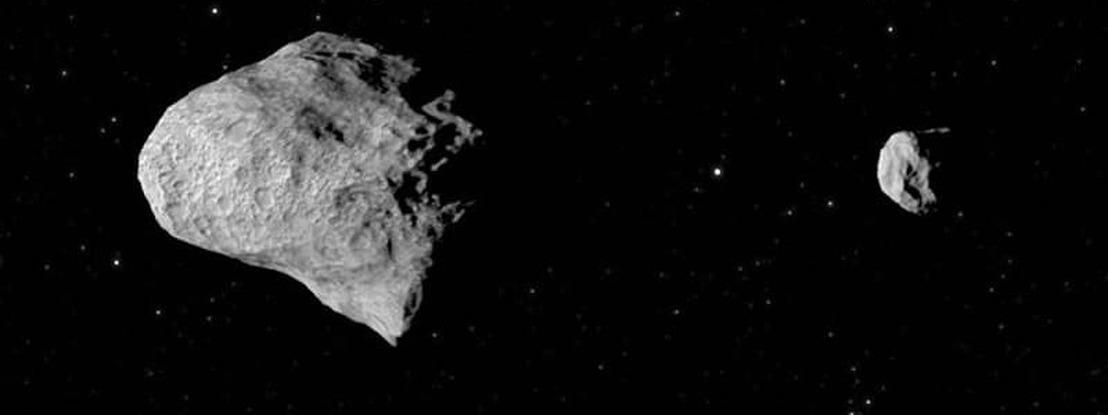"""Descoberto novo asteroide que tem a sua própria """"lua"""" a orbitar à sua volta"""