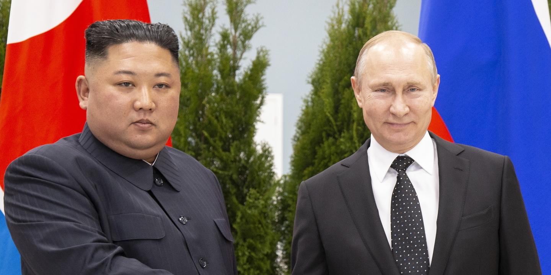 Líder da Coreia do Norte pede a Putin para resolverem juntos problema nuclear