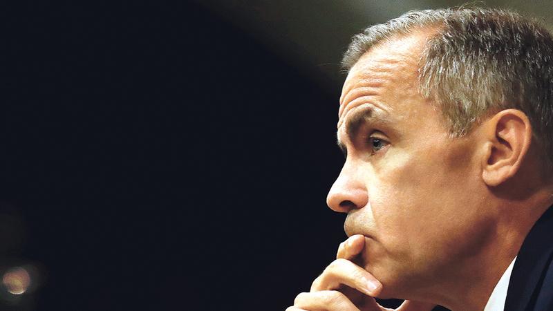 Carney salienta que Banco de Inglaterra pode relançar programa para estimular concessão de crédito