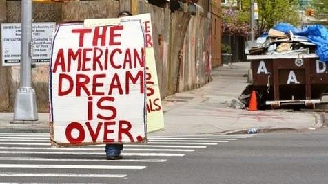 Fim do Sonho Americano