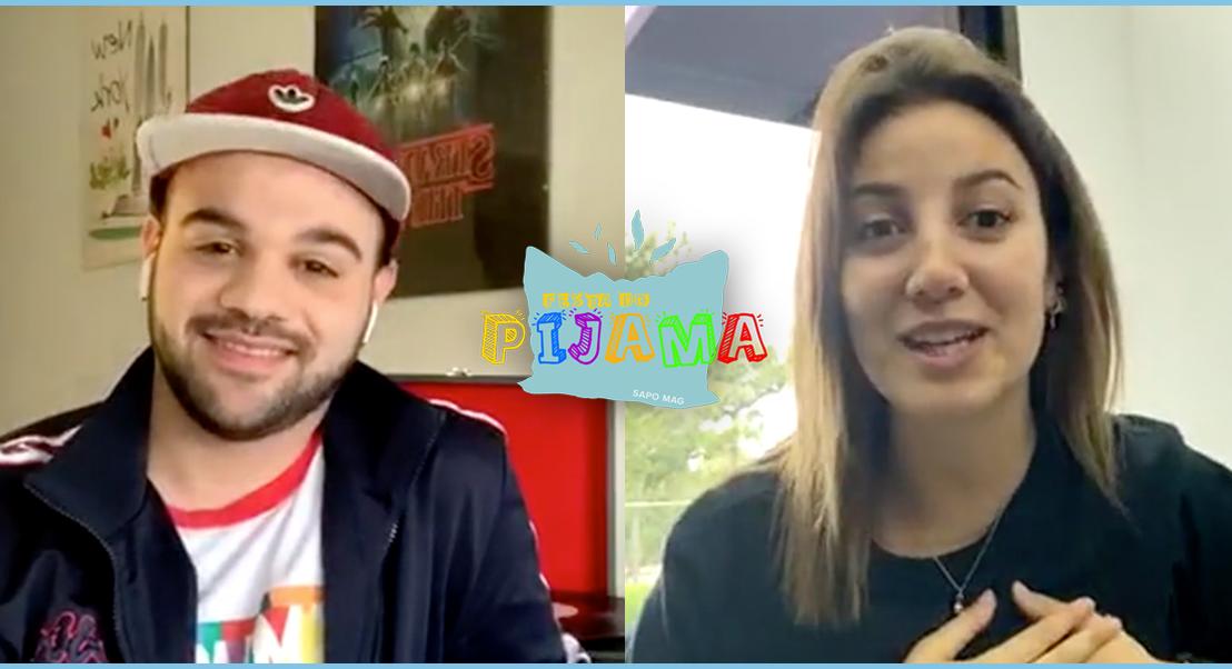 Festa do pijama: conversas (e canções) com artistas no conforto do lar. Veja aqui a edição com April Ivy