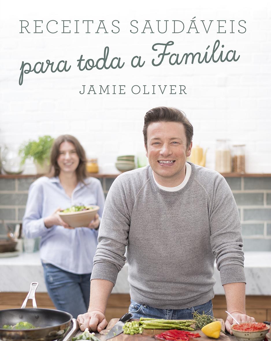 """Jamie volta aos livros e traz-nos """"Receitas Saudáveis para Toda a Família"""""""