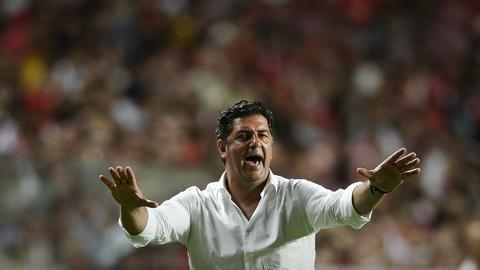 """Rui Vitória: """"Gonçalo Guedes esteve muito bem, mas os outros também"""""""