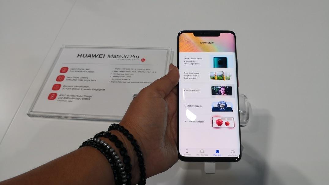 Huawei Mate 20 Pro: primeiro contacto em direto