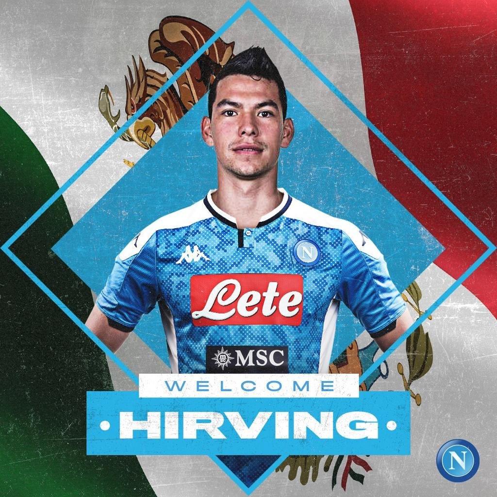Nápoles contrata Lozano ao PSV por valor recorde