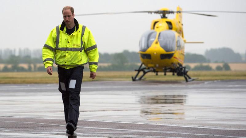 'Adeus helicópteros!': O príncipe William vai reformar-se
