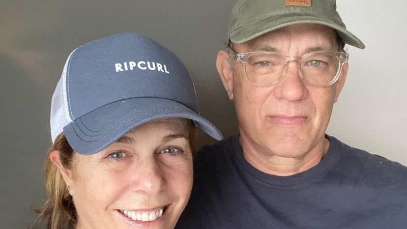 Tom Hanks e Rita Wilson regressam aos Estados Unidos após quarentena