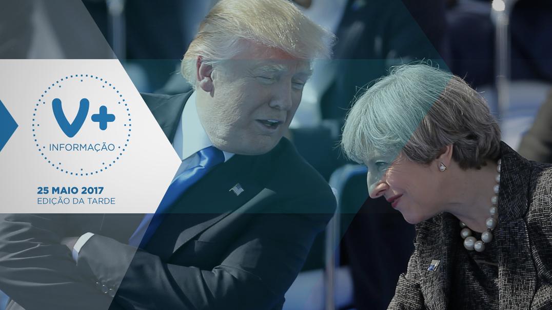 """Manchester. Trump """"preocupado"""" com fugas de informação"""