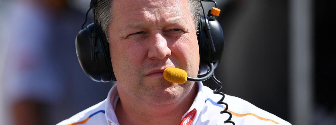 """Diretor executivo da McLaren: """"Fórmula 1 está num momento muito frágil"""""""