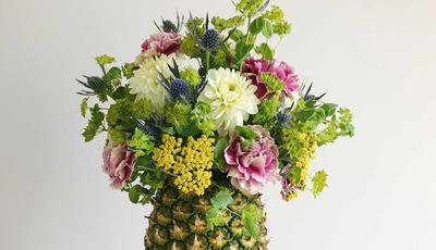 Já mudou a água ao ananás? Locais inéditos que combinam com flores