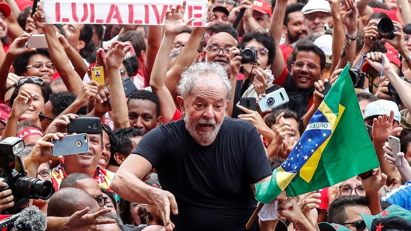 """Lula da Silva: """"Nós queremos fazer mudança de verdade no Brasil"""""""