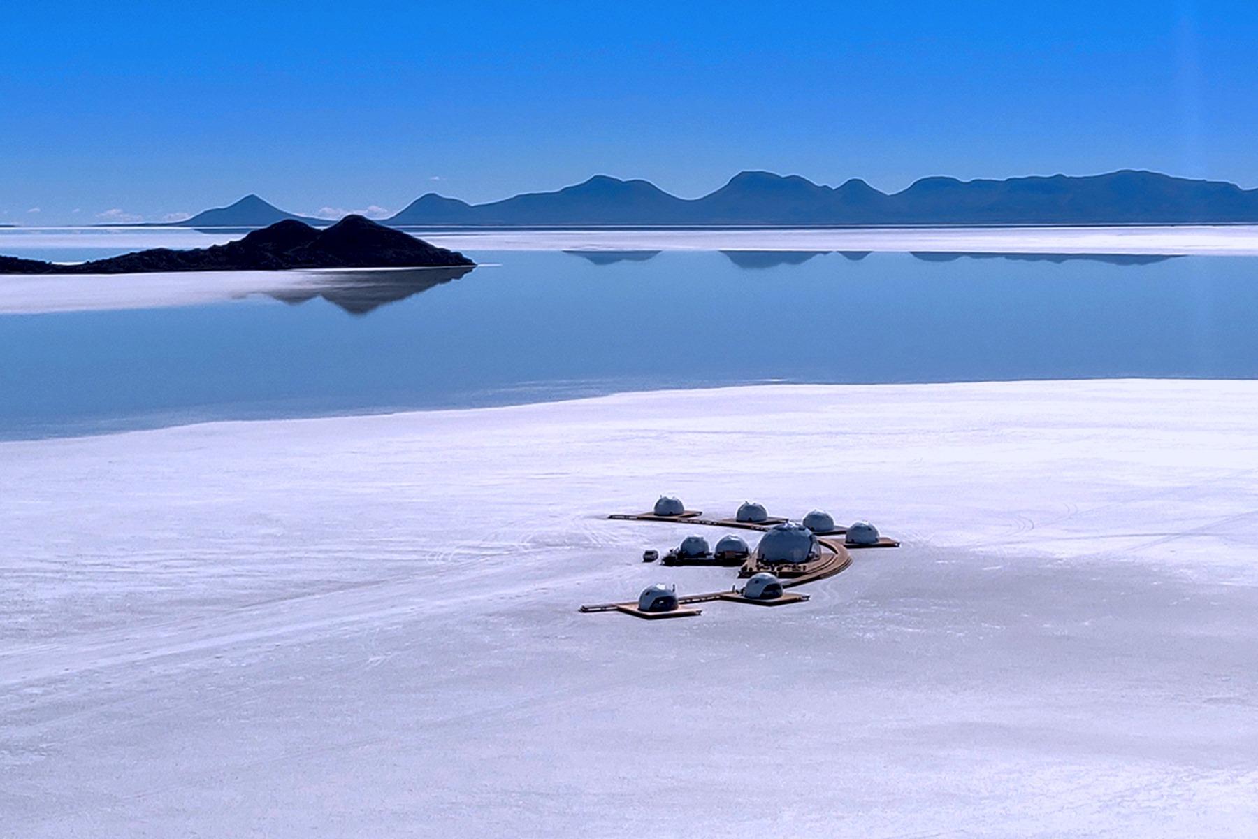 Glamping no maior deserto de sal do mundo. Uma experiência única