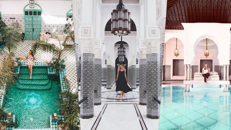 """De camas na piscina a mercados coloridos: Estes são os locais mais """"instagramáveis"""" de Marraquexe"""