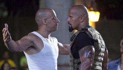 """O motivo da zanga entre Vin Diesel e Dwayne Johnson? Uma """"luta de território"""""""