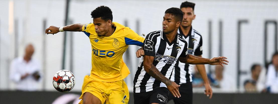 Veja os cinco golos do Portimonense-FC Porto, jogo com final de loucos